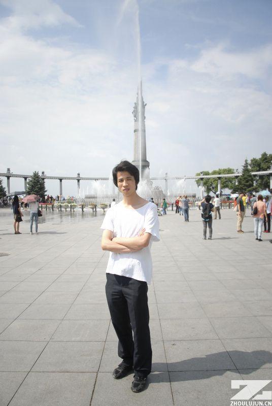 哈尔滨-中央大街-周陆军