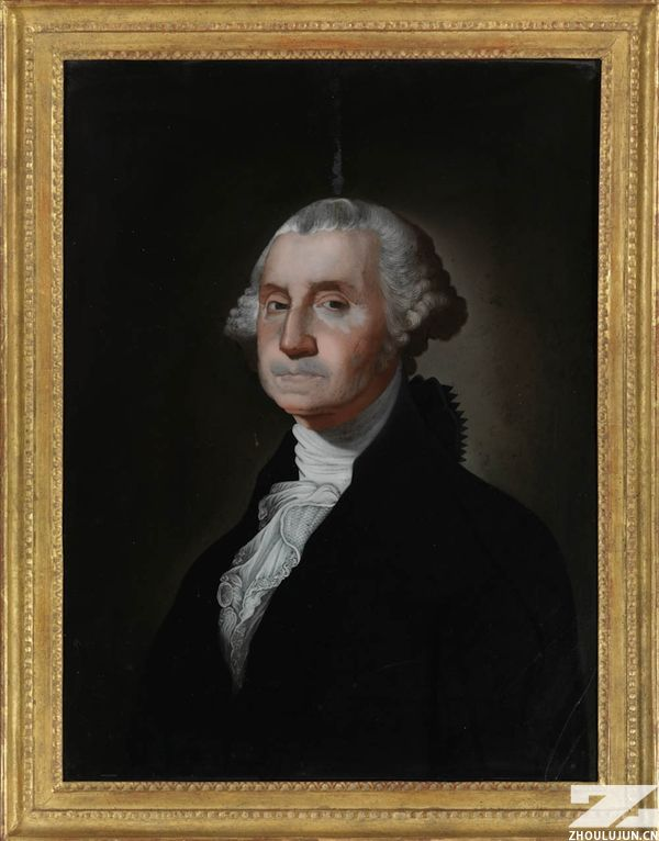 Portrait of George Washington, after a portait by Gilbert Stuart, early 19th century, 1800-1805)