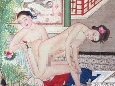 古代夫妻做爱姿势大全(图) 侧入式