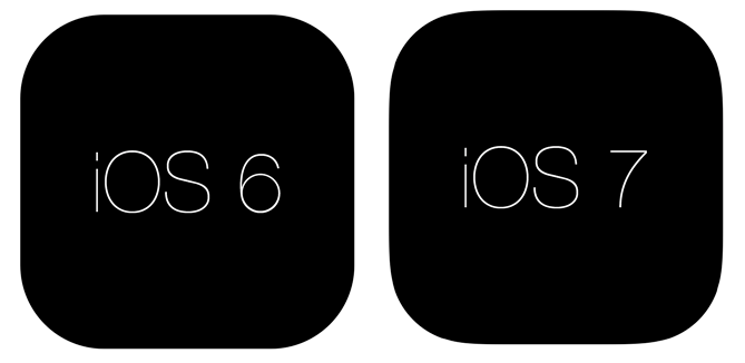 圆角矩形 IOS6 7区别